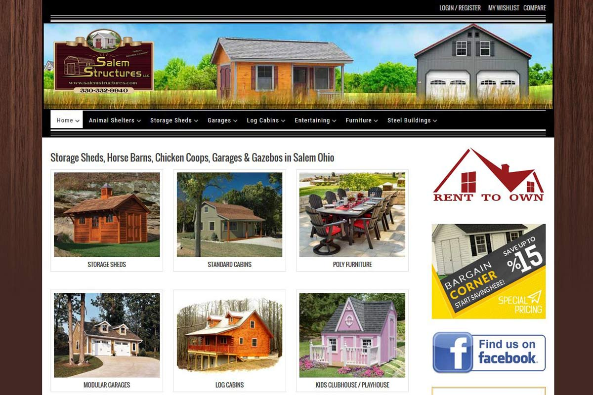 Salem Structures – eCommerce Building Sales