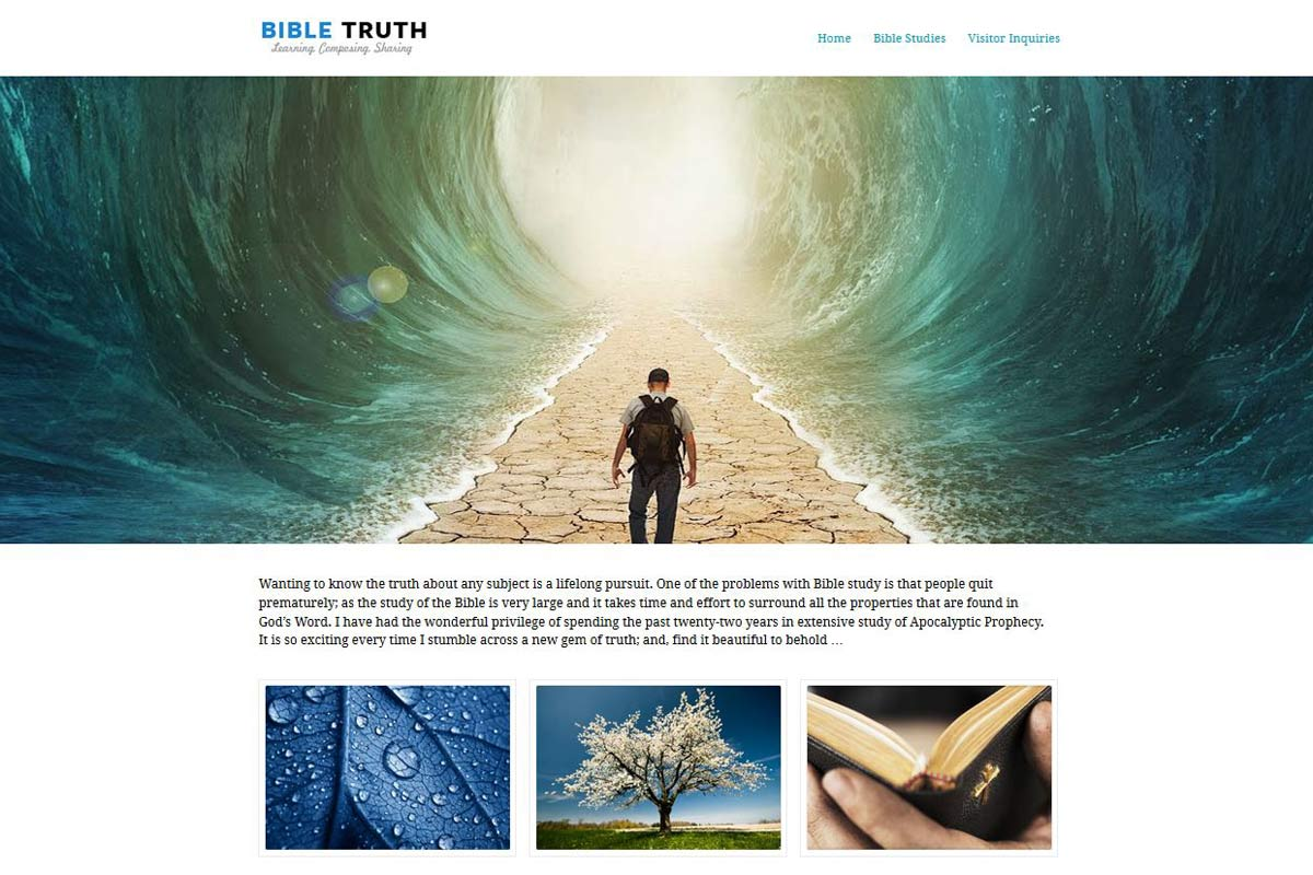 TruthComposer.com - A Biblical Book Sales Site
