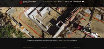 Website Portfolio - Bogner Construction