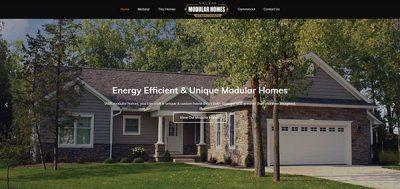 Website Portfolio - Modular Homes By Salem Structures
