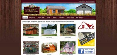 Website Portfolio - Salem Structures
